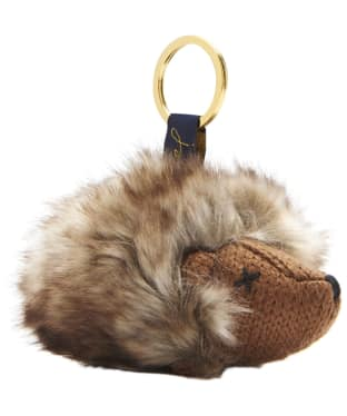 Women's Joules Knitted Novelty Keyring - Hedgehog