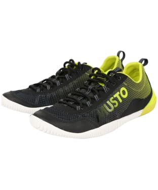 Men's Musto Dynamic Pro Shoes - Black / Lime