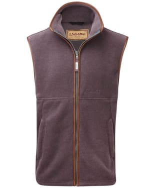 Men's Schoffel Oakham Fleece Gilet - Mink / Heather