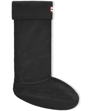 Hunter Fleece Welly Socks Adult - Dark Slate