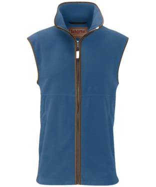 Men's Schoffel Oakham Fleece Gilet - Denim