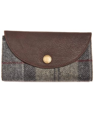 Women's Barbour Wool Tartan Purse - Winter Tartan