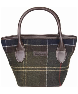 Women's Barbour Tartan Mini Tote Handbag