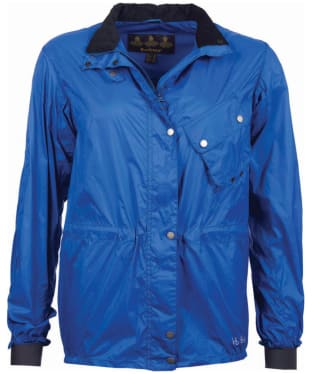 Women's Barbour x Brompton Brent Jacket - Sea Blue