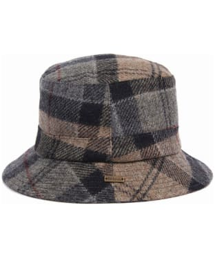 Women's Barbour Galloway Bucket Hat - Winter Tartan