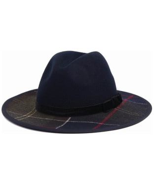 Women's Barbour Tornhill Fedora Hat - Navy / Classic