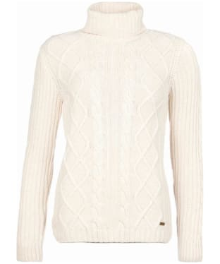 Women's Barbour x Sam Heughan Fraser Knit Sweater - Oatmeal