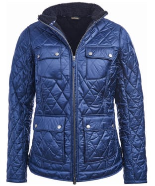 Women's Barbour Filey Quilt Jacket - French Navy