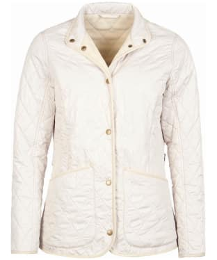 Women's Barbour Combe Polarquilt Jacket - Mist