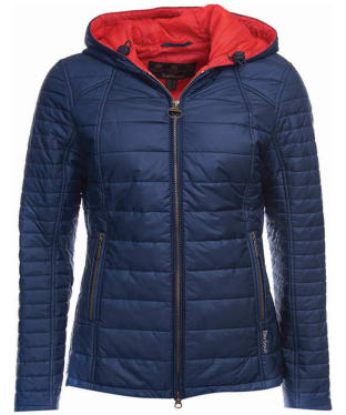 Women's Barbour Cragside Quilt Jacket - Navy