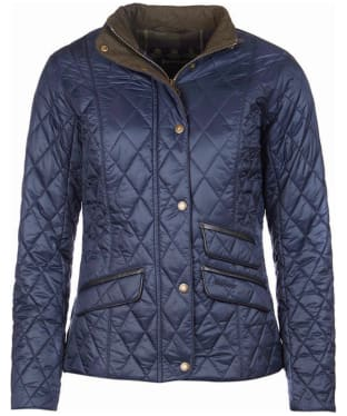 Women's Barbour x Sam Heughan Augustus Quilt Jacket - Navy