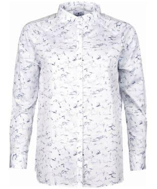 Women's Barbour Heritage Amanda Marble Print Shirt