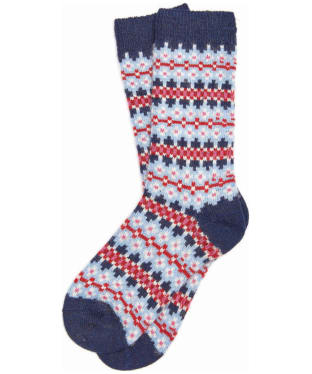 Women's Barbour Seaton Socks - Navy