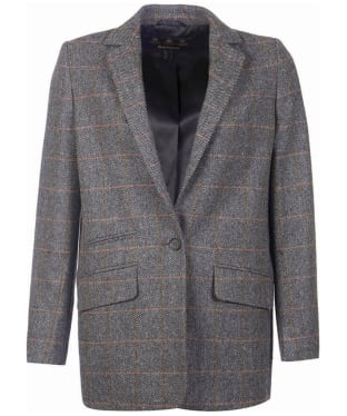 Women's Barbour Bradley Tailored Jacket - Grey Tweed