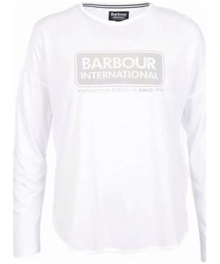Women's Barbour International Mallory Tee - White