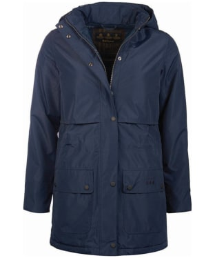 Women's Barbour Stratus Waterproof Jacket - Dark Navy