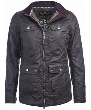 Women's Barbour Filey Wax Jacket - Olive