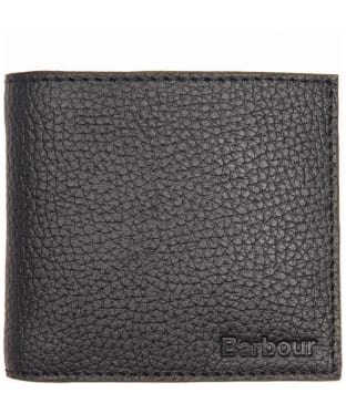 Men's Barbour Leather Billfold Wallet