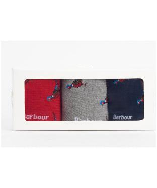 Men's Barbour Pheasant Sock Gift Box