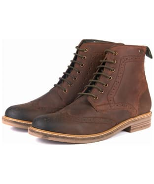 Men's Barbour Belsay Boots - Chocolate
