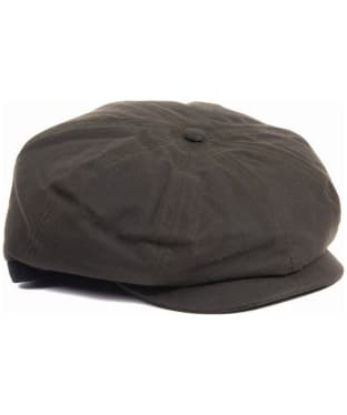 Men's Barbour Guillemot Baker Boy Hat - Olive / Classic Tartan