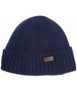 Men's Barbour Carlton Beanie Hat - Navy