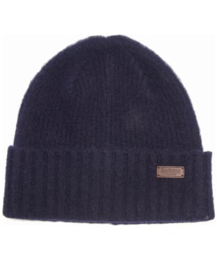 Men's Barbour Danby Beanie Hat - Navy