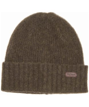Men's Barbour Danby Beanie Hat - Olive