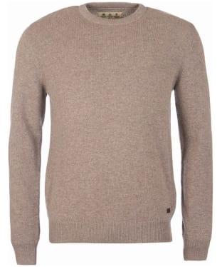 Men's Barbour Nelson Essential Crew Sweater - Dark Stone