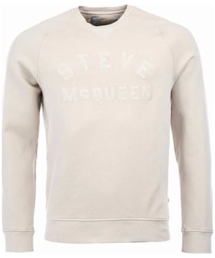 Men's Barbour Steve McQueen Merchant Crew Sweater - Pearl