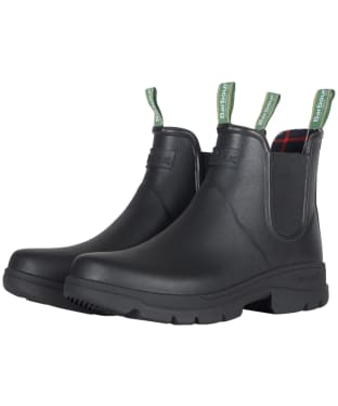 Men's Barbour Fury Chelsea Welly - Black