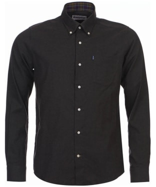 Men's Barbour Don Tailored Shirt - Dark Olive