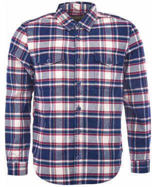Men's Barbour Steve McQueen Slater Shirt - Navy Check