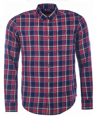 Men's Barbour Steve McQueen King Shirt - Cordovan Check