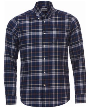 Men's Barbour Blane Tailored Shirt - Navy Check