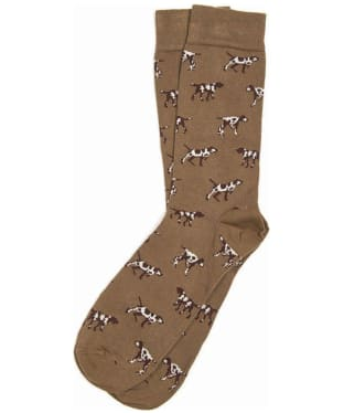Men's Barbour Pointer Socks - Olive