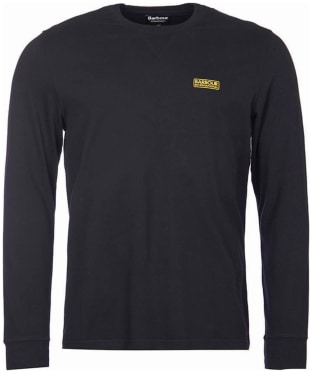 Men's Barbour International Long Sleeve Logo Tee