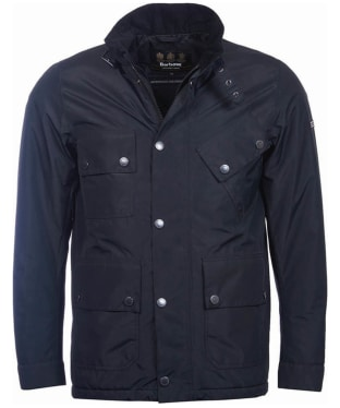 Men's Barbour International Tyne Waterproof Jacket - Black