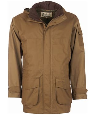 Men's Barbour Lockton Waterproof Jacket - Clay