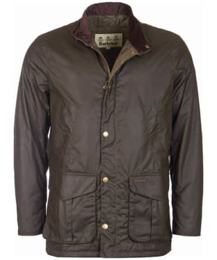 Men's Barbour Hereford Wax Jacket - Olive