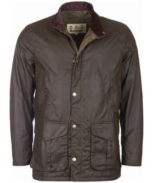 Men's Barbour Hereford Wax Jacket - Olive