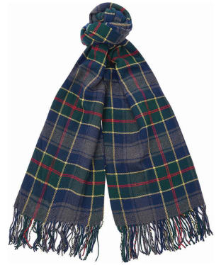 Barbour Fulmar Plaid Scarf