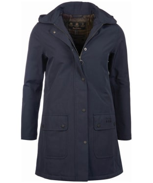 Women's Barbour Cirro Waterproof Jacket - Dark Navy