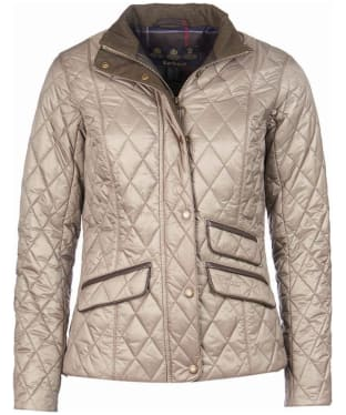 Women's Barbour x Sam Heughan Augustus Quilt Jacket - Taupe