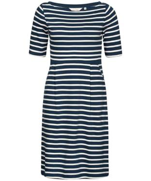 Women's Seasalt Stay Sail Dress - Breton Night Ecru
