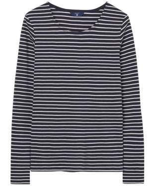 Women's GANT Striped Long Sleeve T-shirt