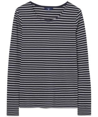 Women's GANT Striped Long Sleeve T-shirt