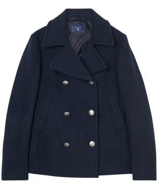Women's GANT Bonded Wool Pea Coat
