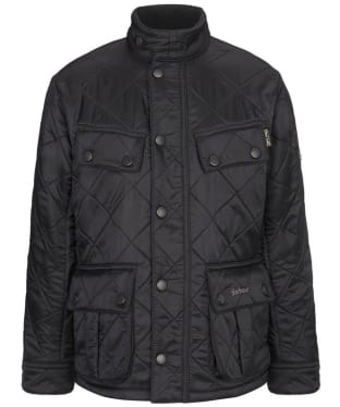 Boy's Barbour Ariel Polarquilt Jacket, 10-15yrs - Black