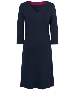 Women's GANT Jersey V-Neck Dress